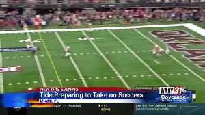 Tide preparing to take on Sooners [Video]