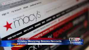 Holiday shopping breaks records [Video]
