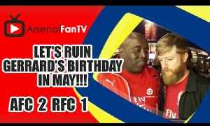 Let's Ruin Gerrard's Birthday In May!!!  | FA Cup Semi Final - Arsenal 2 Reading 1 [Video]
