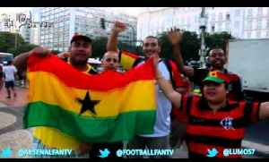 World Cup Diary Of Brazil - Brazilian Fans Get Supporting Ghana [Video]