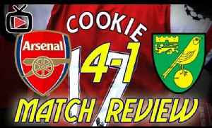 Arsenal FC 4 Norwich City 1  Match Review By Cookie - ArsenalFanTV.com [Video]