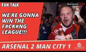 We're Gonna Win The F#ck#ng League!!!  | Arsenal 2 Man City 1 [Video]