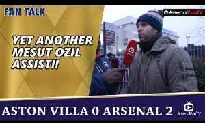 Yet Another Mesut Ozil Assist!! | Aston Villa 0 Arsenal 2 [Video]