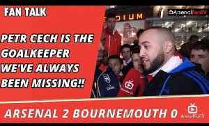 Petr Cech Is The Goalkeeper We've Always Been Missing!!  | Arsenal 2 Bournemouth 0 [Video]