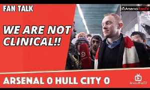 We Are Not Clinical!! | Arsenal 0 Hull City 0 [Video]