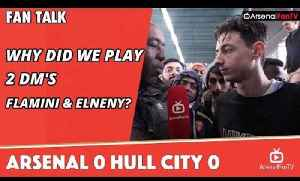 Why Did We Play 2 DM's (Flamini & Elneny)?  | Arsenal 0 Hull City 0 [Video]