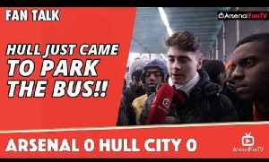Hull Just Came To Park The Bus!!  | Arsenal 0 Hull City 0 [Video]