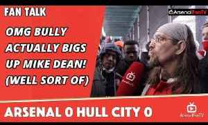 OMG Bully Actually Bigs Up Mike Dean! (Well sort of) | Arsenal 0 Hull City 0 [Video]
