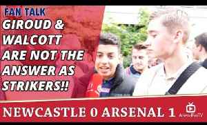 Giroud & Walcott Are Not The Answer As Strikers!!  | Newcastle 0 Arsenal 1 [Video]