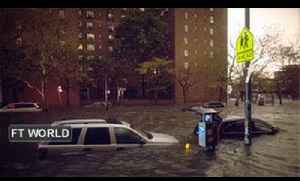 Sandy slams the US east coast [Video]
