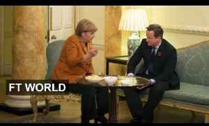 Merkel and Cameron Face Off [Video]
