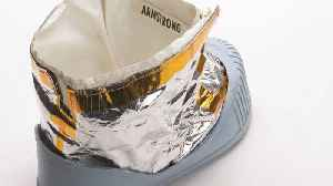Out Of This World! Neil Armstrong Boot Prototype Sold For $49,000 At Auction [Video]