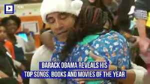 Barack Obama Reveals His Top Songs, Books and Movies of the Year [Video]
