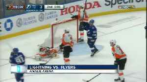 Alex Killorn scores 18 seconds into overtime as the Lightning beat the Flyers 6-5 [Video]