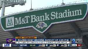 Ravens hope for full house as they face the Browns this weekend [Video]