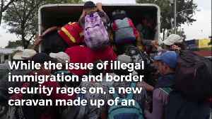 An Even Bigger Caravan Is Reportedly Set To Leave From Honduras Next Month [Video]