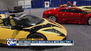 San Diego Auto Show rolls into second day [Video]