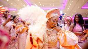 This Nigerian Wedding Is Filled With Dancing & LOTS Of Food [Video]