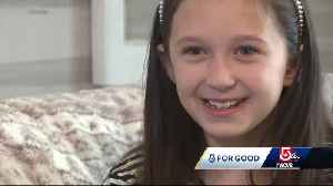 Meet the 9-year-old who has hosted a 'sweet' gift drive for years [Video]