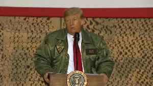 Trump Boasted 10% Raises to the Troops He Visited. The Actual Raise Is Much Lower [Video]