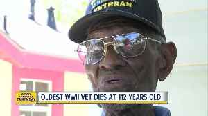 Oldest WWII veteran, Richard Overton, dies at 112 years old [Video]