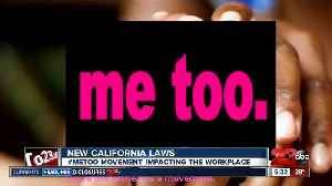 New year, new laws: #MeToo movement [Video]