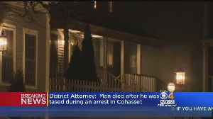 Man Accused Of Stabbing Woman Dies After Cohasset Police Tase Him, DA Says [Video]