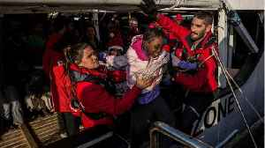 Ship Carrying Over 300 Migrants Rescued From Libya Docks In Spain [Video]