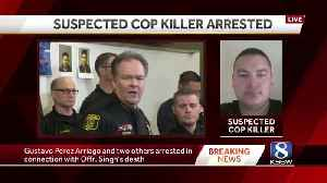 Investigators say three men arrested in Officer Singh death were in U.S. illegally [Video]