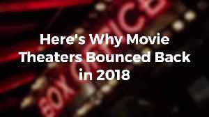 Movie Theaters Are Back And Bigger Than Ever [Video]