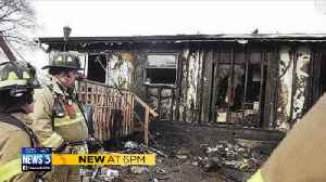 Home goes up in flames day after Christmas, family asking for community's help [Video]