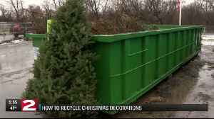 How to Recycle your Christmas Decorations [Video]