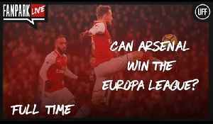 Can Arsenal Win The Europa League? - Arsenal 4-1 CSKA Moscow - FanPark Live [Video]