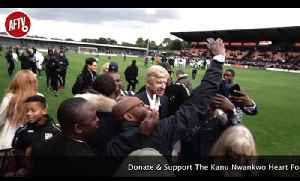 Kanu Cup Post Match Reactions Ft Arsene Wenger, Pires, Sol Campbell & Michael Essien [Video]