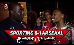 Sporting Lisbon 0-1 Arsenal | We Will Win The Europa League! (South African Fan) [Video]
