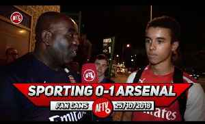 Sporting Lisbon 0-1 Arsenal | I Would Play Rob Holding Over Mustafi! (Canadian Fan) [Video]