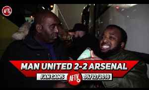 Man United 2-2 Arsenal | No One Wanted To Have A Shot On Goal!! (Sparks) [Video]