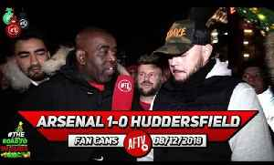 Arsenal 1-0 Huddersfield | The Ref Was Abysmal! Even Worse Than Mike Dean!! (DT) [Video]