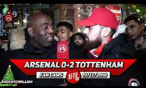 Arsenal 0-2 Tottenham | Iwobi Is NEVER Going To Make It At This Club! (Turkish) [Video]