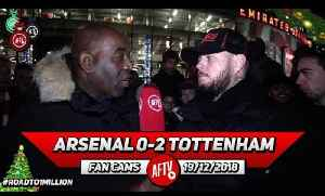 Arsenal 0-2 Tottenham   Xhaka At Centre Back Doesn't Work We Need Him In Midfield!! (DT) [Video]