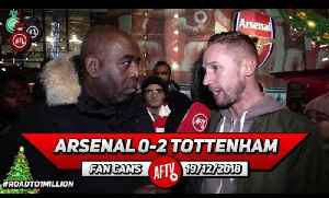 Arsenal 0-2 Tottenham   The Standard Of Refereeing Is In The Gutter!! (Lee Gunner) [Video]
