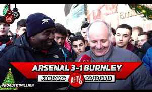Arsenal 3-1 Burnley | No One Is Bigger Than The Club! It's Not Ozil FC It's Arsenal FC!! (Claude) [Video]