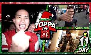 Aubameyang Greets AFTV In Singapore!! | 12 Days Of Toppa Top! Day 11 Ft Lumos, DT & Troopz [Video]