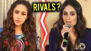 Sara Ali Khan Vs Kareena Kapoor Khan | Sara & Kareena COMPETE Each Other [Video]