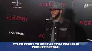 Tyler Perry To Pay Tribute With Aretha Franklin Special [Video]