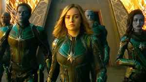 Captain Marvel with Brie Larson - Official