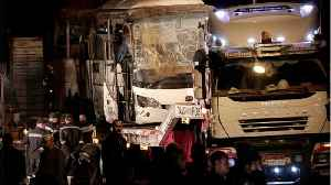 Egyptian Forces Kill 40 Suspected Militants After Tourist Bus Bombed [Video]