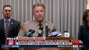 WATCH LIVE: KCSO holds press conference regarding the search for a man who is accused of killing a Northern California police of [Video]