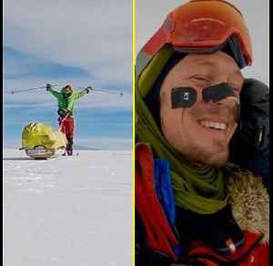 Colin O'Brady Is First Person to Cross Antarctica Solo [Video]
