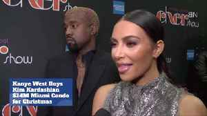 Kanye Buys Kim A 14 Mill Vacay Condo For Christmas [Video]